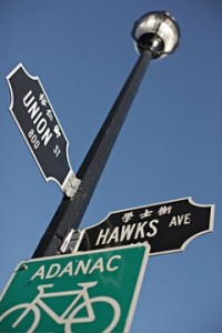 union hawkes sign