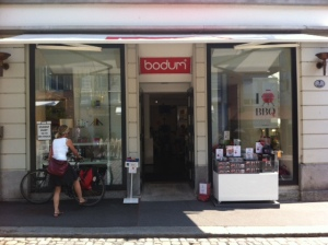 bodum store in Luzerne.  I didn't know this existed!