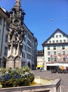 Fountain in Lucerne